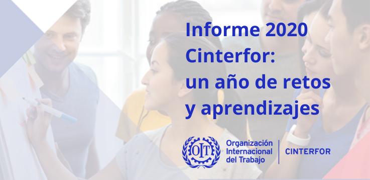 Informe 2020 Cinterfor: un año de retos y aprendizajes