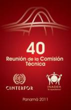 Logo de la 40 RCT OIT/Cinterfor. Panamá 2011