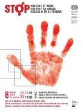 Afiche Día Internacional del Mujer 2013